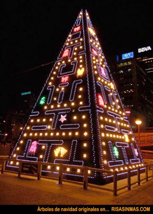 Rboles de navidad originales pac man - Originales arboles de navidad ...