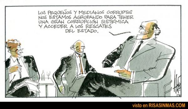 Agrupación de corruptos