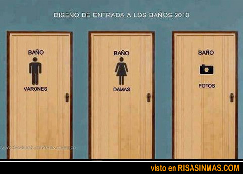 Imagenes Baños De Visita:Diseño de la entrada de los baños en 2013