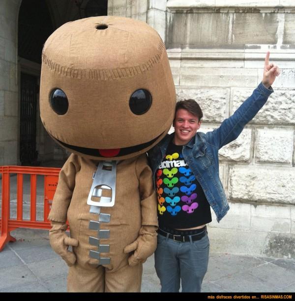 Disfraces divertidos: LittleBigPlanet