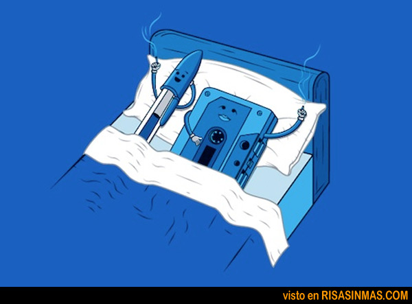 El bolígrafo y la cassette