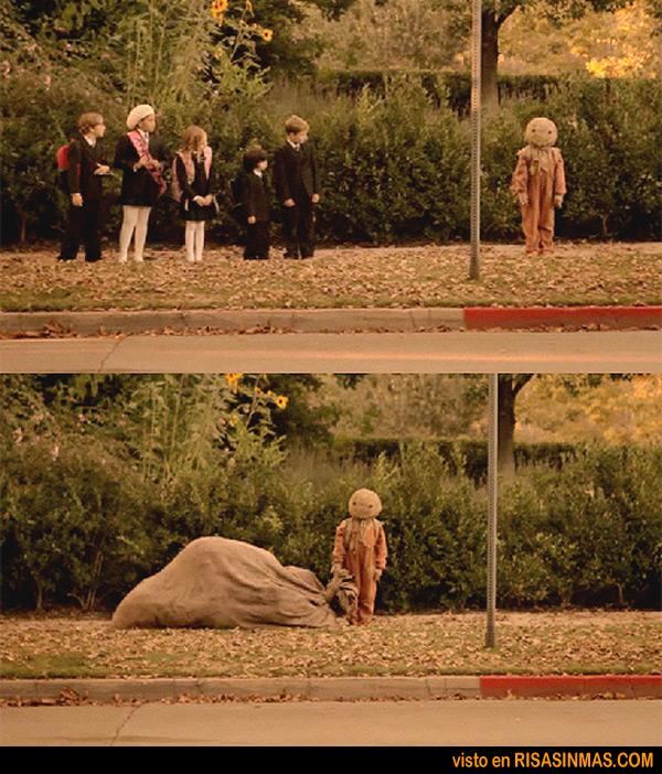 El hombre del saco... de niño