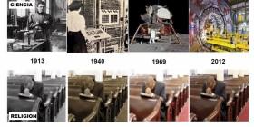 Evolución de la ciencia y la religión