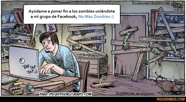 Grupo de Facebook: No más zombies