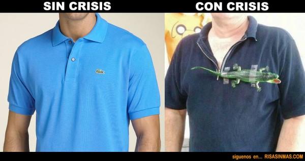 La crisis también se nota en la moda