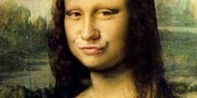 Mona Lisa estilo duckface