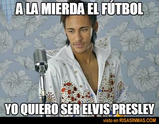 Neymar deja el fútbol