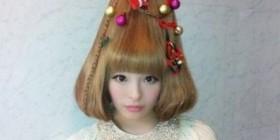 Peinado árbol de navidad