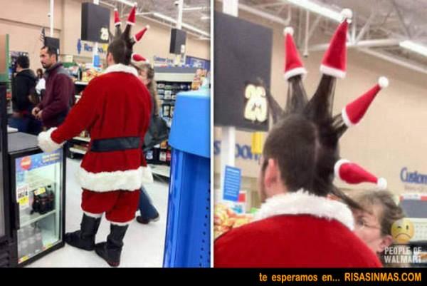 Peinado Navidad: Punky