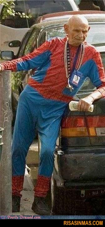 Spiderman a punto de jubilarse