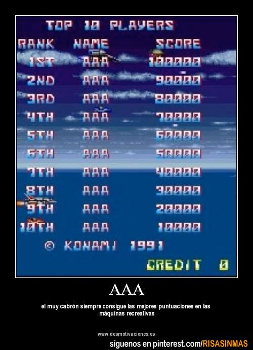 AAA es siempre el mejor