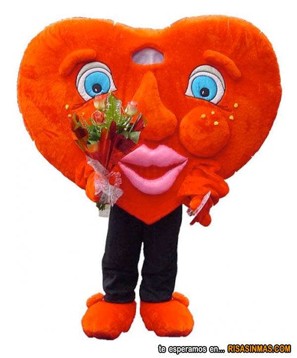 Disfraz corazón de San Valentín