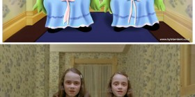 Gemelas del Resplandor versión Pixar