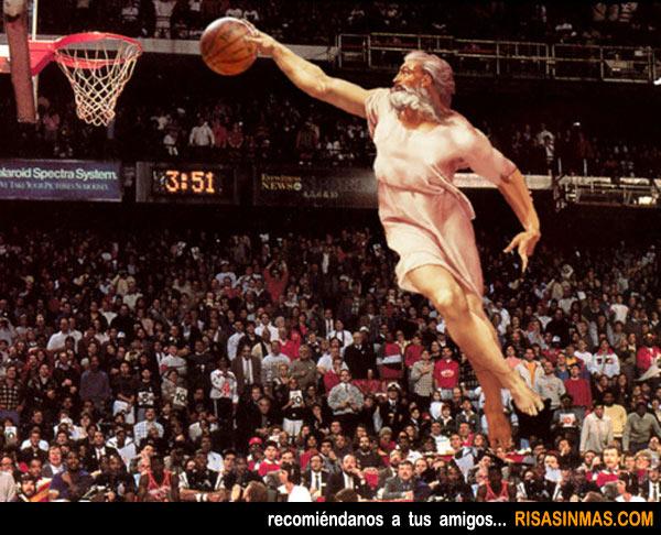 Miguel Ángel y la NBA