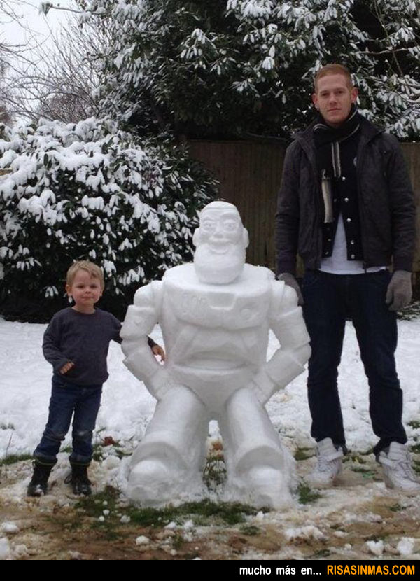 Muñecos de nieve originales: Buzz Lightyear