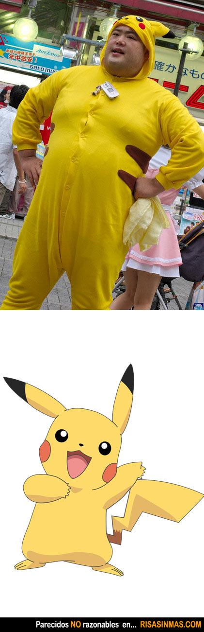 Parecidos NO razonables: Pikachu