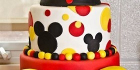 Tartas originales: Mickey Mouse