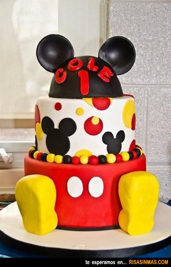 Tartas originales: Mickey Mouse