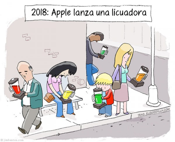 Apple lanza una licuadora