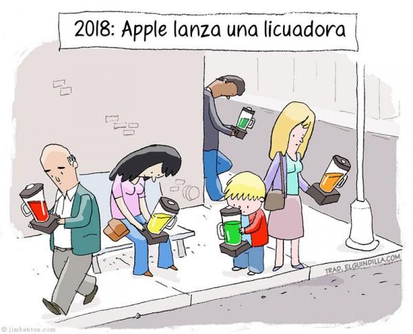 Apple lanza una licuadora