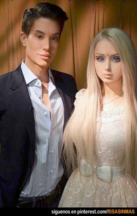 Barbie y Kent existen