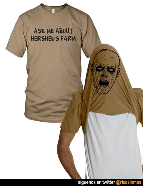 Camisetas originales: Zombie
