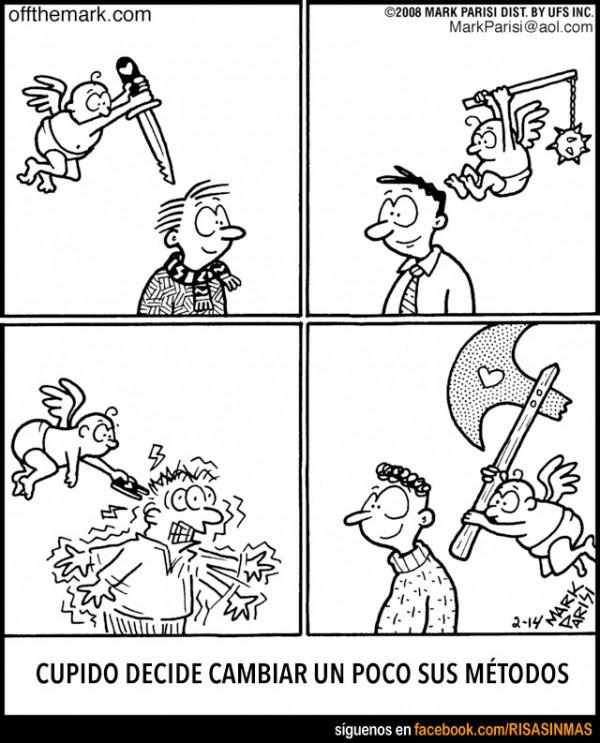 Cupido decide cambiar sus métodos