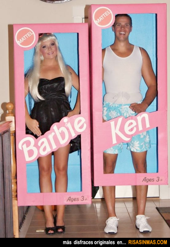 Disfraces originales: Barbie y Ken