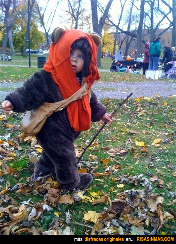 Disfraces originales: Ewok