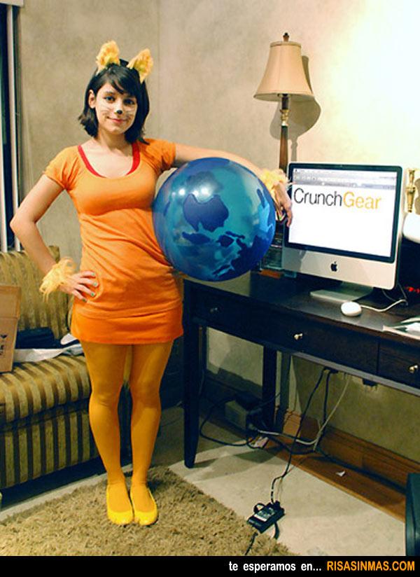 Disfraces originales: Firefox