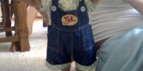 Disfraces perrunos: Niño