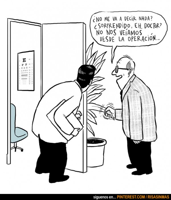 Doctor sorprendido...
