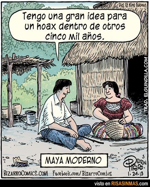 El nuevo apocalipsis maya