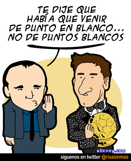 El traje de Messi