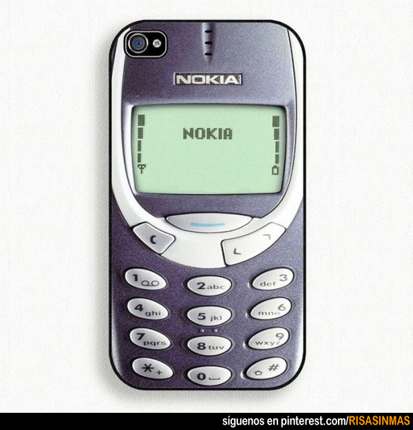 Fundas originales para iPhone: Nokia 3310