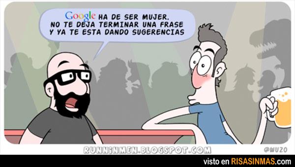 Google es una mujer