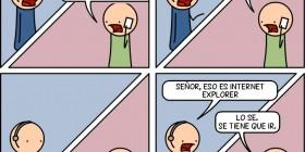 Internet Explorer es un virus