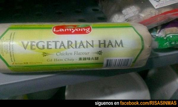 Jamón vegetariano
