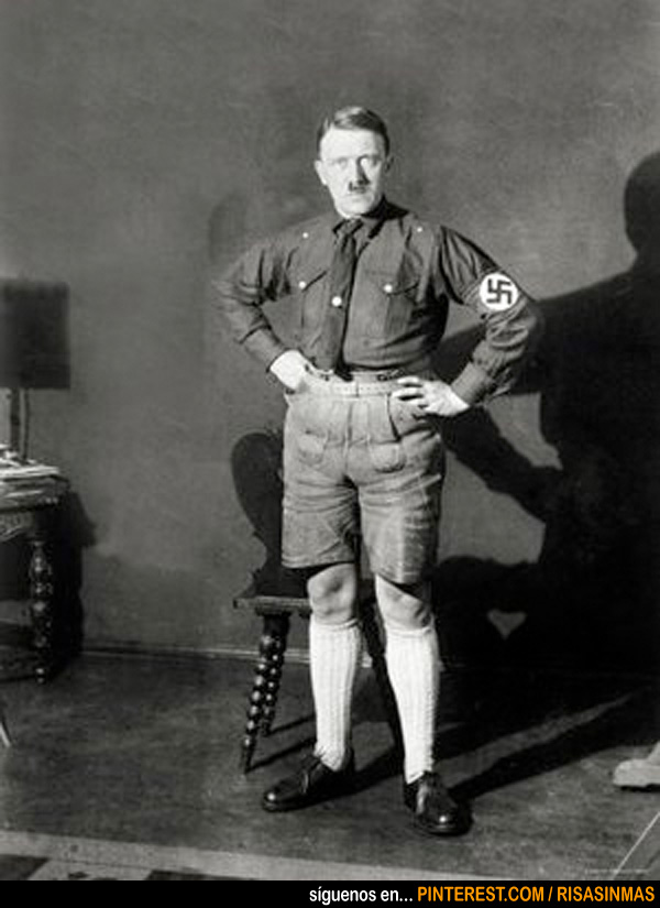 La imagen más temible de Hitler