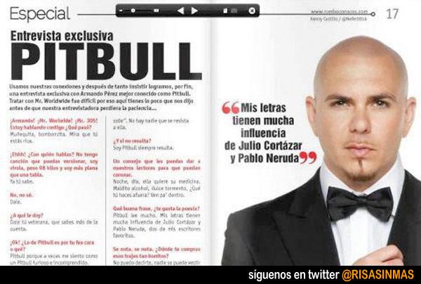 Las letras de Pitbull