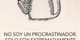 No soy un procrastinador