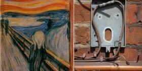 Parecidos razonables: El grito de Munch