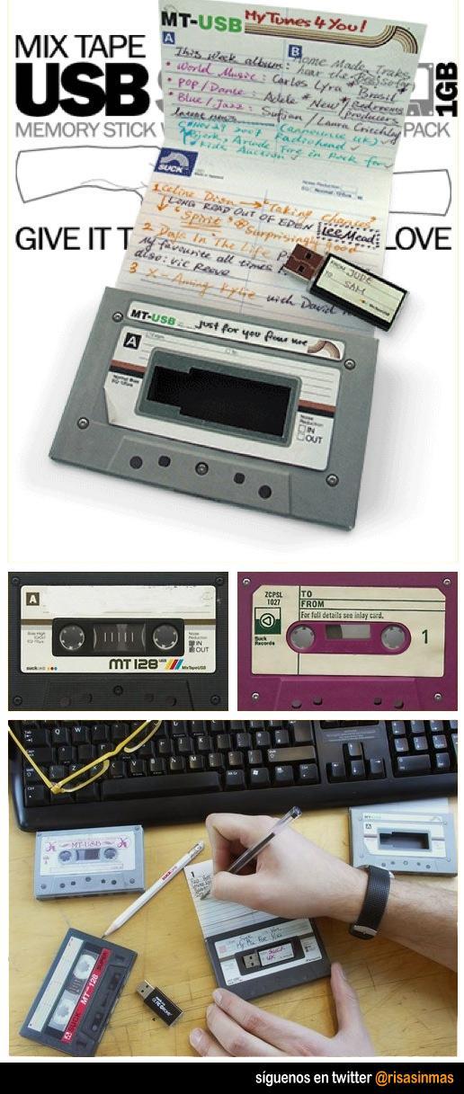 Pendrive Cassette