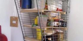 Reciclando carrito de supermercado