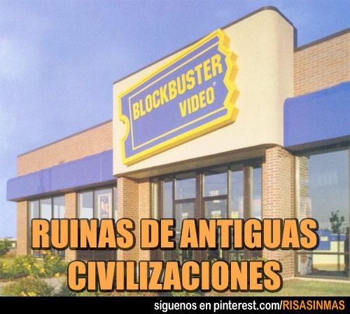 Ruinas de antiguas civilizaciones