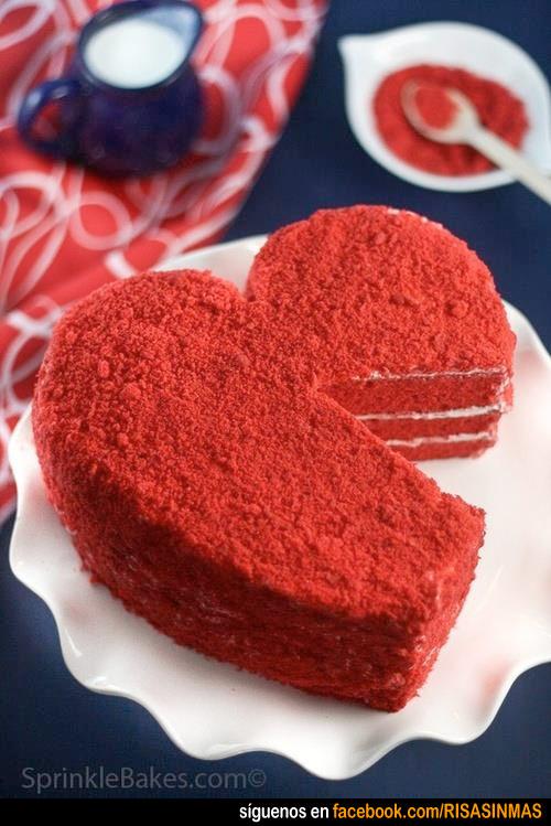 Tartas originales: San Valentín