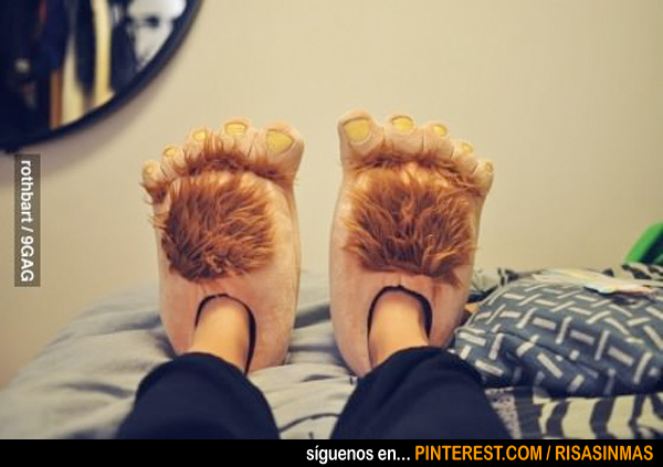 Zapatillas de Hobbit