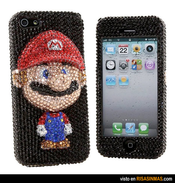 Fundas originales para iPhone: Mario Bros