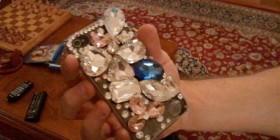 Fundas originales para iPhone: piedras preciosas