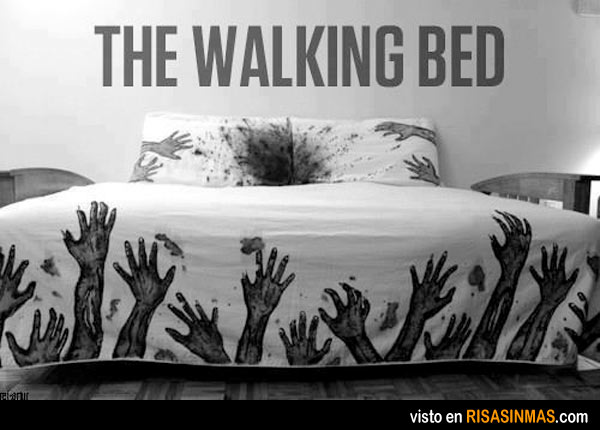 The Walking Bed, cama para fans de zombies